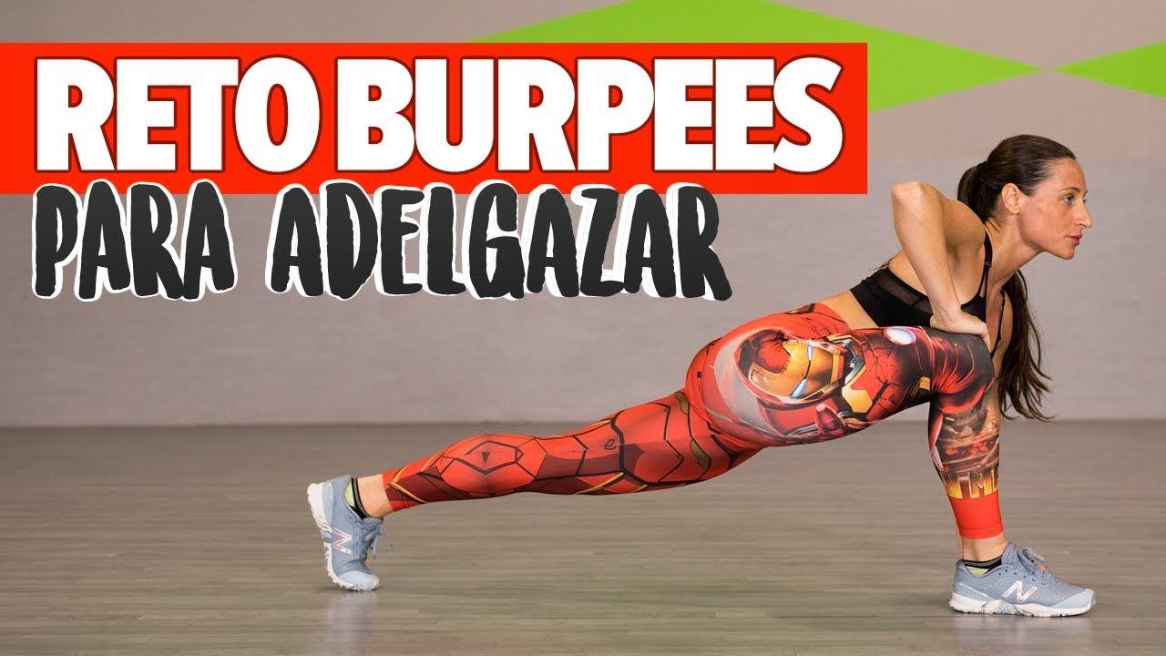 DESAFÍO CARDIO BURPEES: Quemagrasas explosivo 20min   Best Fat Burning Workout #1
