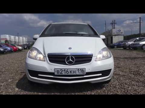 2010 Mercedes Benz A180 W169 Обзор интерьер, экстерьер, двигатель