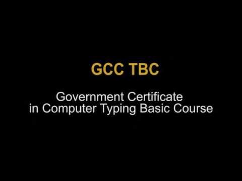 GCCTBC 40WPM EXAM DEMO MSCE PUNE