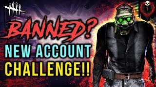 BANNED? NEW ACCOUNT CHALLENGE [#193] Dead by Daylight with HybridPanda