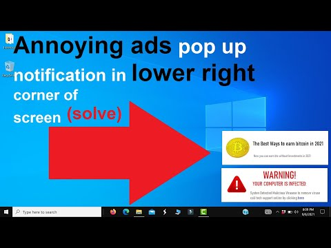 windows 10 stop pop up ads