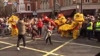 لندن تحتفل برأس السنة الصينية