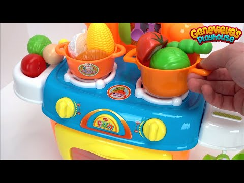Teach Kids Colors, 123s, Food Names - Best Toy Learning Videos for Kids - Educational Preschool Toys