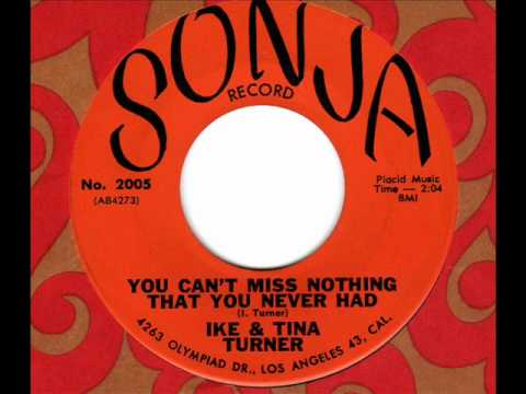 Ike Tina Turner You Cant Miss Nothing That You Never Had 60s Rb