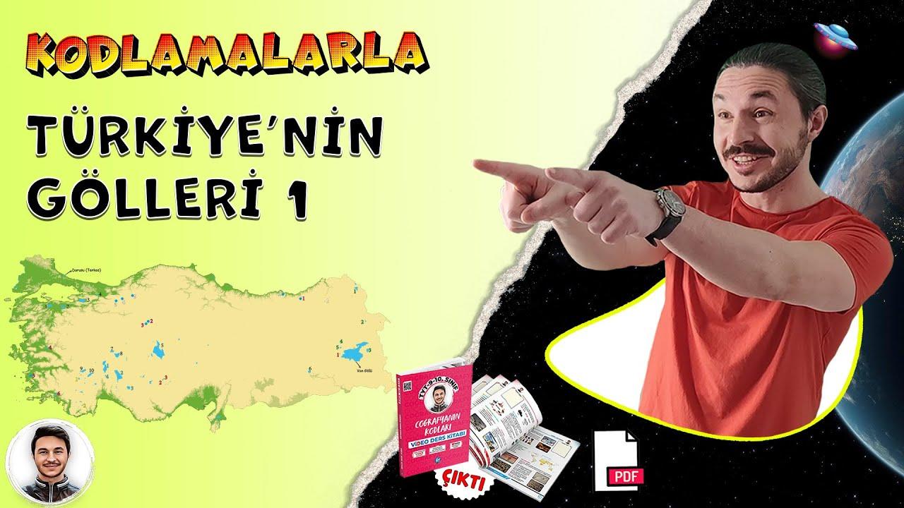 Download Coğrafya Göller hafıza teknikleri kodlama 🌎 Türkiye Göller Haritası ,Kpss 10.sınıf coğrafya göller