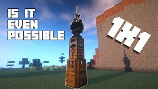 Minecraft How To Build A 1x1 House Tutorial