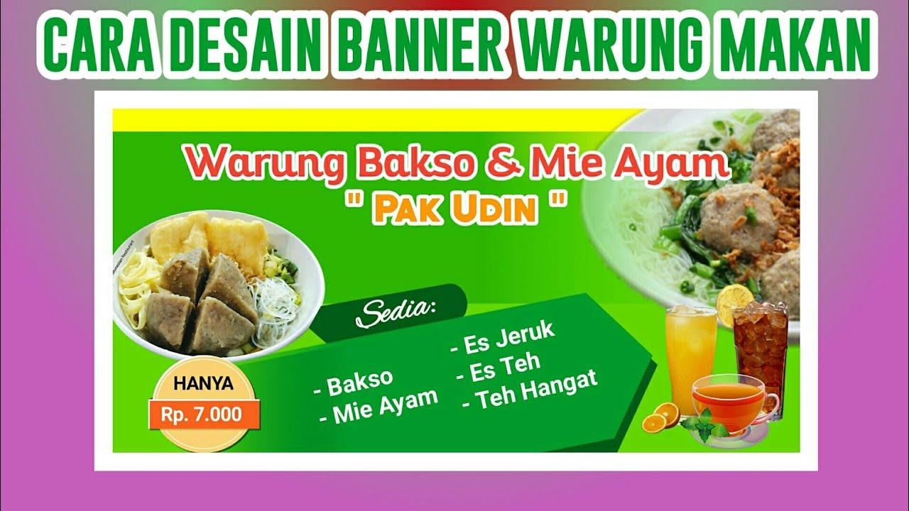 Tutorial Desain Banner Warung Makan - Pixellab Tutorial ...