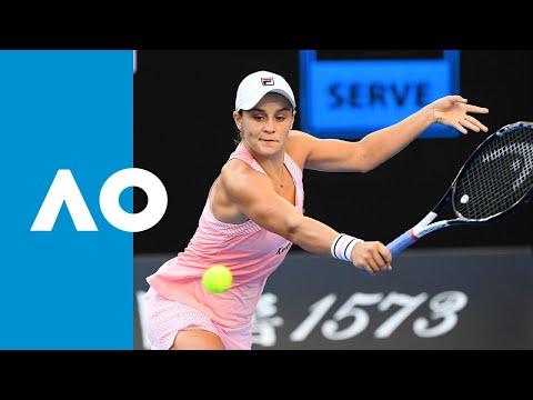 Ashleigh Barty v Luksika Kumkhum match highlights (1R)   Australian Open 2019