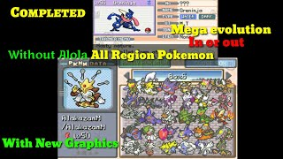 Best Pokemon Gba Hack In The World Pokemon Kalos With Mega Evolution,all Reigns Pokemon In Pc,more..