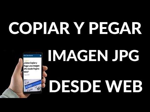 Cómo Copiar y Pegar una Imagen JPG Desde una Página Web
