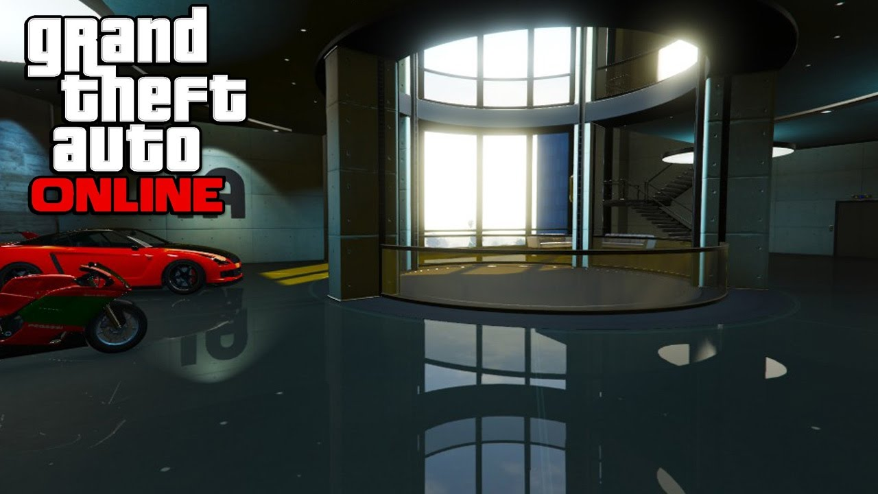 Gta 5 Online Dlc How To Buy New Office Garage And Office Custom