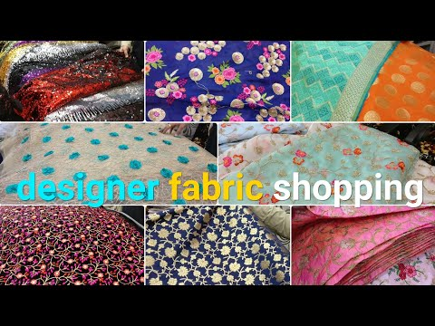 designer fabric at cheap price | CHEAPEST FABRIC MARKET | saree kurti lehenga cloth | urban hill