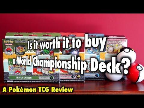 PKMTCG - Is it worth it to buy a Pokémon World Championship Deck?