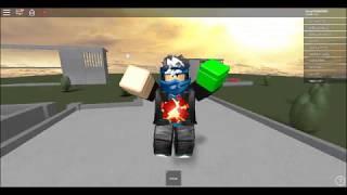 jugando roblox Iron Man Batailles