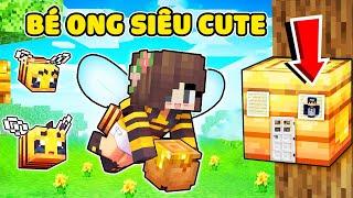 1 Ngày Ốc Làm Bé Ong Siêu Cute Trong Minecraft 🐝 bqThanh Khám Phá Nơi Ở Mới Của Ốc Bên Trong Tổ Ong