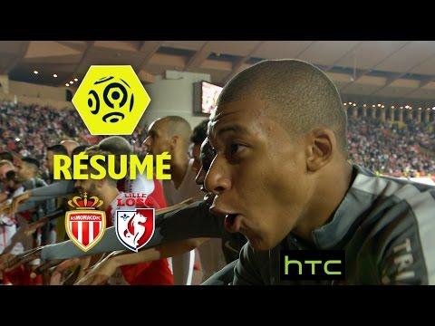 AS Monaco - LOSC (4-0)  - Résumé - (ASM - LOSC) / 2016-17