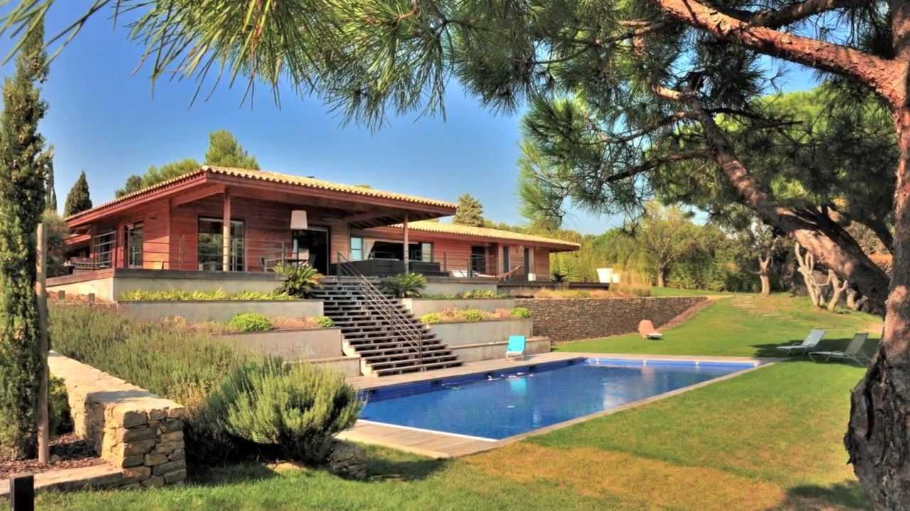 Maison villa achat vente ramatuelle vue mer n 663 for Achat piscine en bois