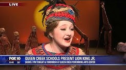 Queen Creek Unified School District presents Lion King Jr.