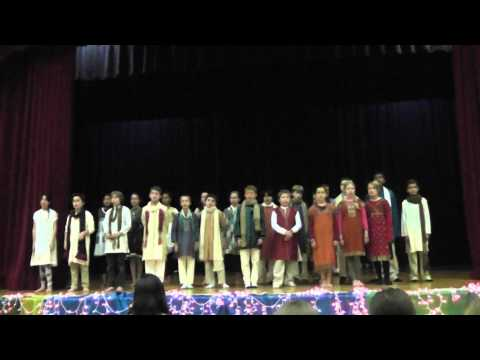 KWS Diwali - 5th Grade - Sanskrit Songs