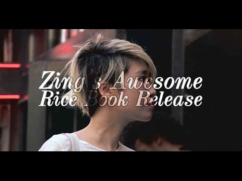 Zing's Awesome Rice Book Release