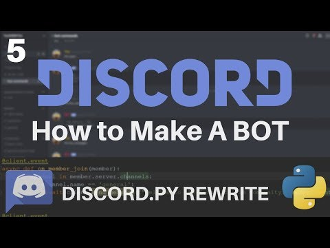 Discord py Rewrite - How to Host a Discord BOT for Free