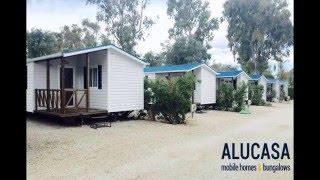 Los bungalows del Camping Caravaning La Manga