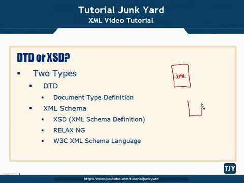 XML Tutorial   22 DTD Or XSD Schema