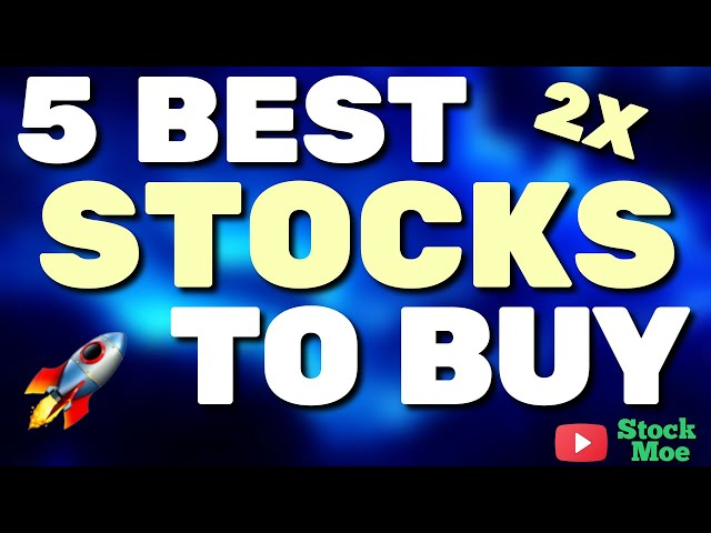 TOP 5 BEST STOCKS TO BUY NOW FOR 2021 (BEST STOCKS TO INVEST IN GROWTH STOCKS)