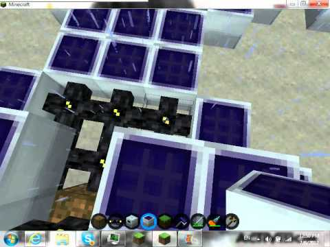 Minecraft Industrialcraft How To Make A Solar Flower Youtube