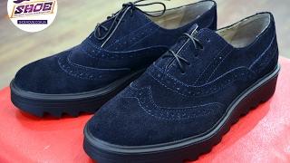 Замшевые женские туфли-броги MITRO