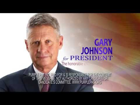 Gary Johnson 2016 - The honorable choice for a change