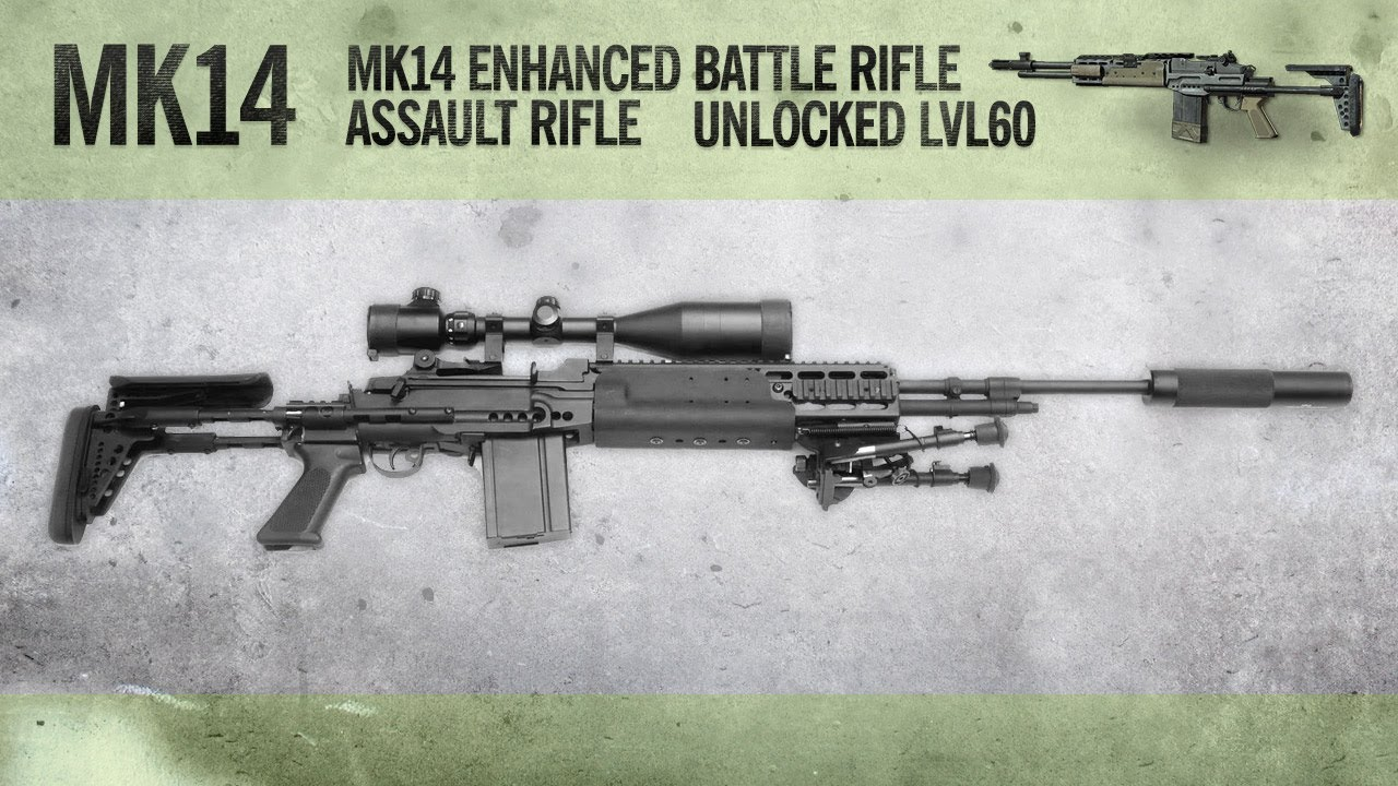 MK14 : MW3 Weapon Guide, Gameplay & Gun Review