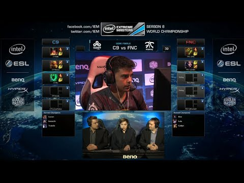 Cloud 9 vs Fnatic | Game 1 Semifinals IEM Katowice WC LOL 2014 | C9 vs FNC