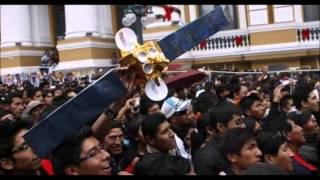 Bolivians Happy With Tupak Katari satellite launch