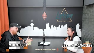 The Fountainhead Network Presents PoCommunity Episode 35: Jessica McAndless from Larkspur Creative