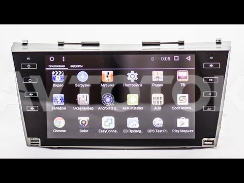 Штатная магнитола Toyota Camry V40 (2006-2012) 8 Core Android KR-9051-T8