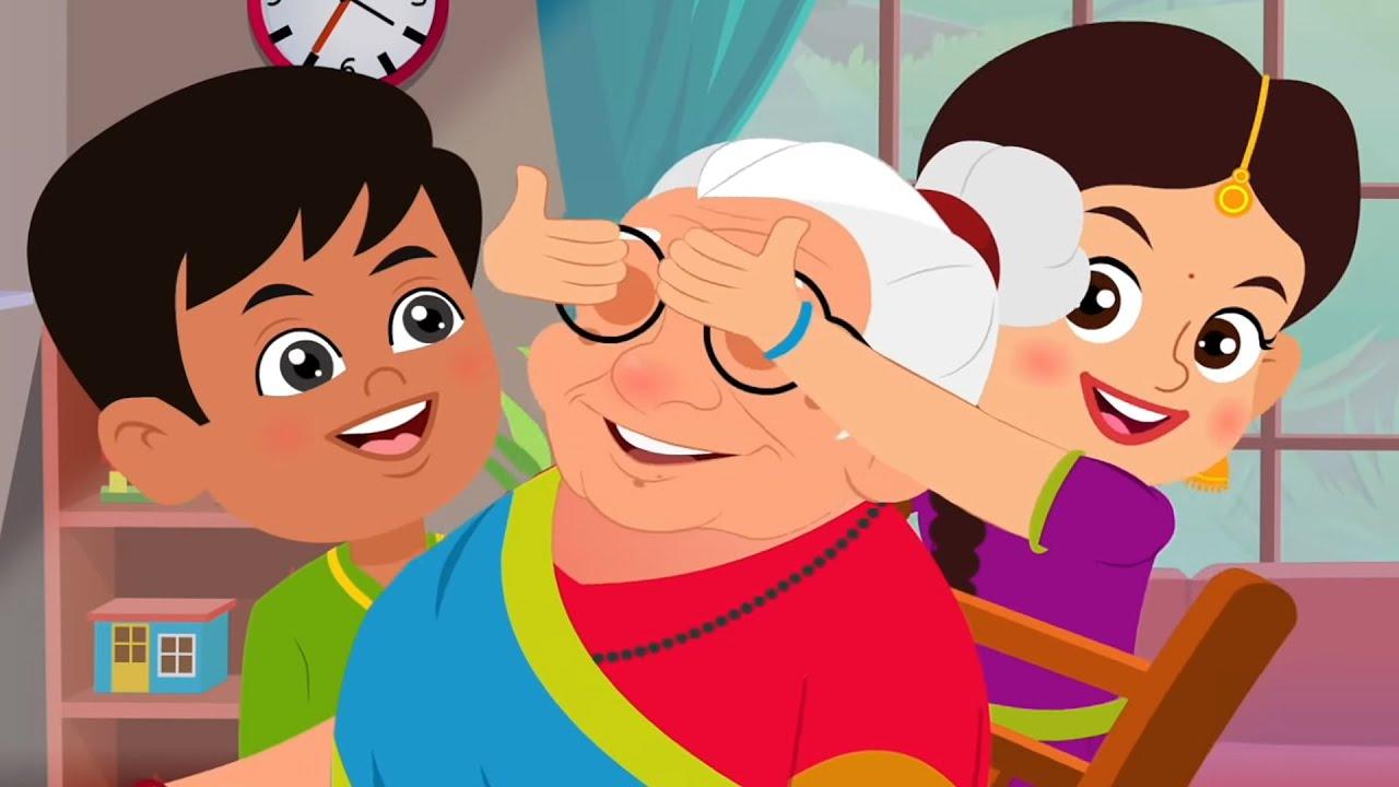 Meri Nani Super Nani | Hindi Balgeet | Nursery Rhymes In Hindi | मेरी नानी सुपर नानी