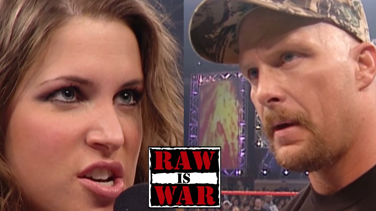 Download Stone Cold Calls Out Stephanie McMahon RAW 1/1/2001