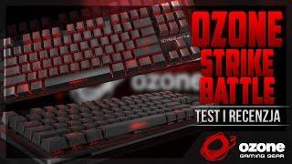 Ozone Strike Battle - Test i recenzja niewielkiego mechanika z Cherry MX Brown