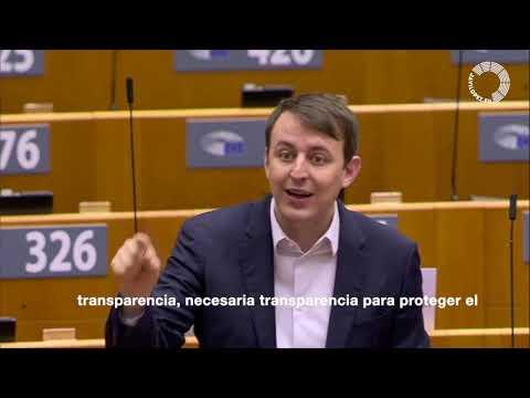 Javi López en el debate sobre la compra y acceso a las vacunas contra la Covid-19