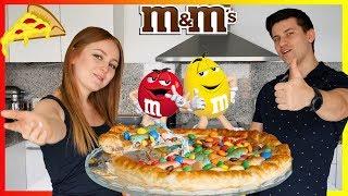 ГОТОВИМ ПИЦЦУ С МАРШМЕЛОУ И M&M