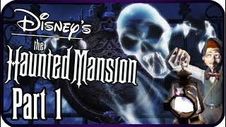 Disney's The Haunted Mansion Walkthrough Part 1 (PS2, GCN, XBOX) Great Hall & Foyer
