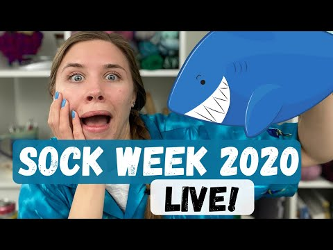 Sock Week 2020 Live! | Knit and Crochet #withme ! | Knitty Natty