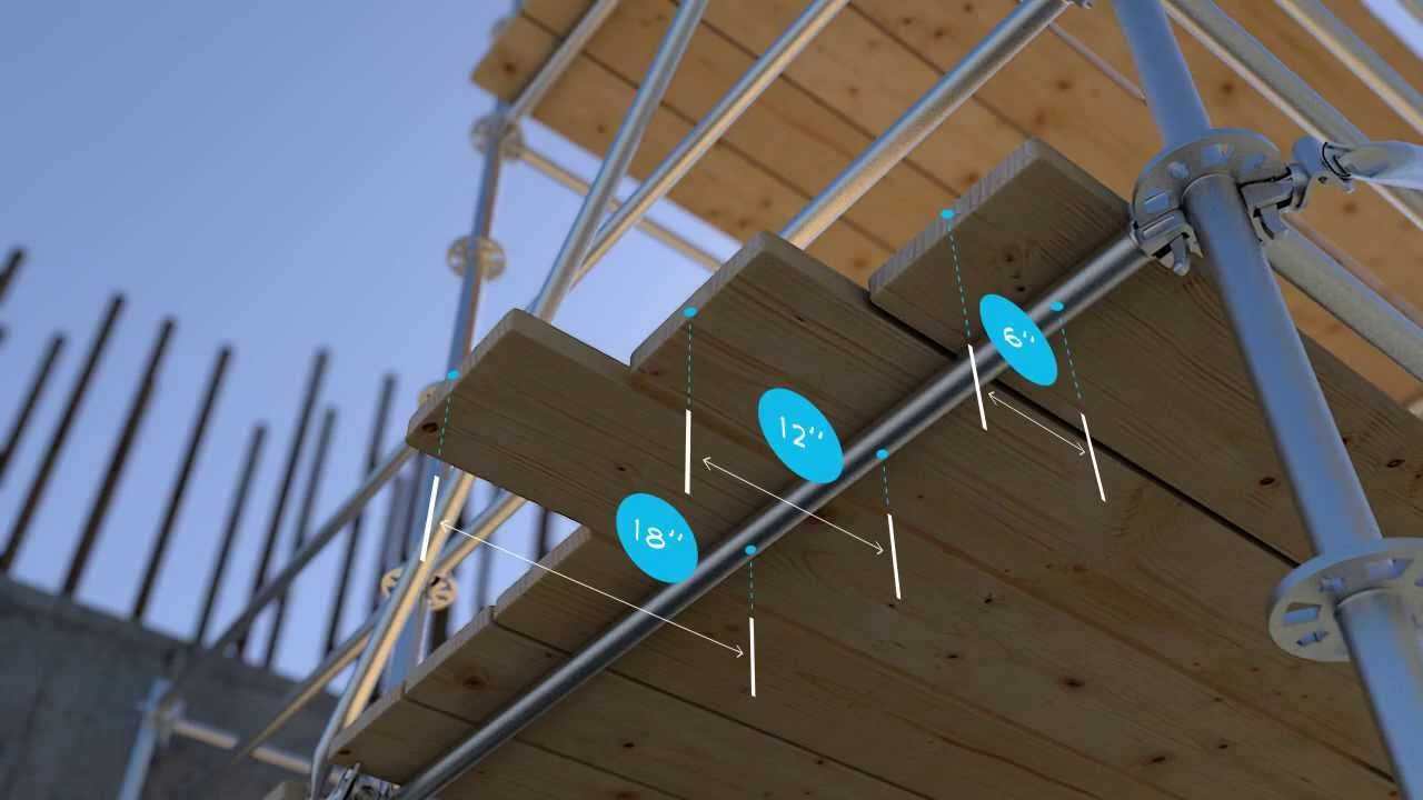 Scaffolding Wood Plank Requirements