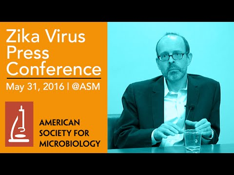 American Society For Microbiology - Zika Virus Press Conference 2016