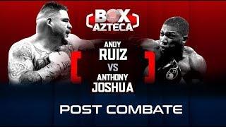 #HayTiro🥊💥  ¡¡El mejor análisis del gran combate entre Andy Ruiz y Anthony Joshua!! 😎☝🏻🏆