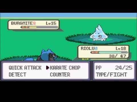 Pokemon Resolute PT  7 Swimming in Starters