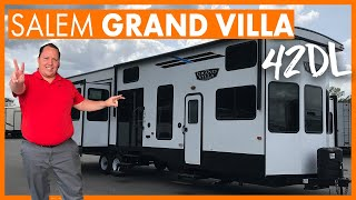 2 Story 3 Bed Room Travel Trailer! Is this a RV or Tiny Home?