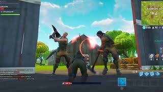 Funny Axe Beating Fail on Fortnite