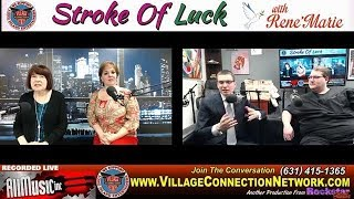 ReneMarie Stroke of Luck /  Dr. Kimon Bekelis, MD  & Jason Wallen , Radiographic Technologists